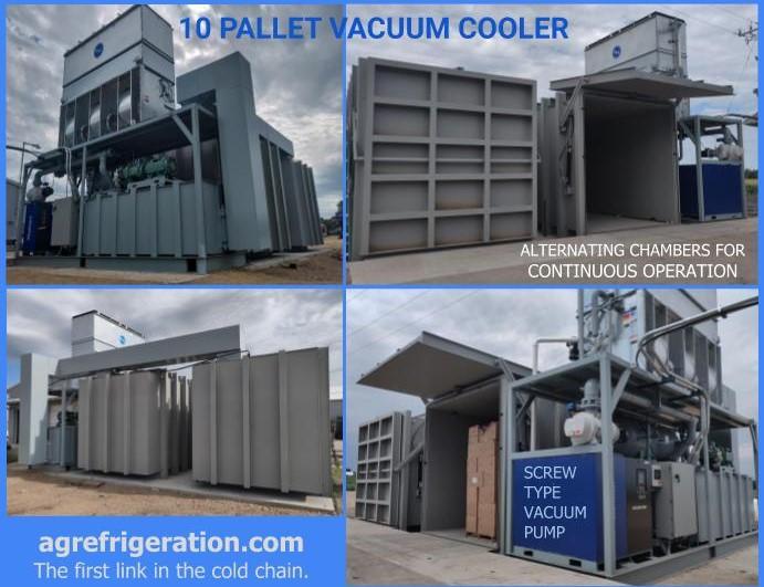 10 Pallet Vacuum Cooler  - flip flop